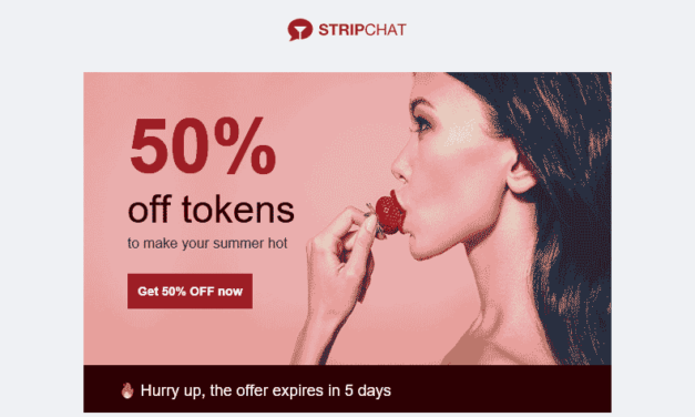 50% Summer discount offer from Stripchat.com